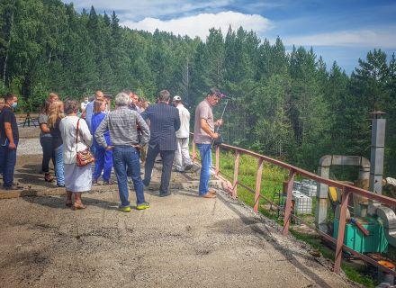 Аудиторы Контрольно-счетной палаты города Красноярска приняли участие в выездном рабочем совещании постоянной комиссии по городскому хозяйству